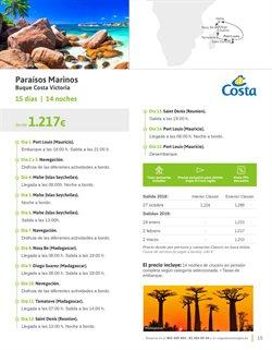 Ofertas de Viajes a Isla Mauricio  en el folleto de Viajes El Corte Inglés en Oviedo