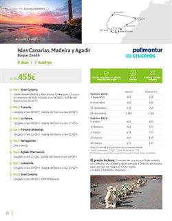 Ofertas de Viajes a Canarias  en el folleto de Viajes El Corte Inglés en Málaga
