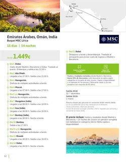 Ofertas de Viajes a la India  en el folleto de Viajes El Corte Inglés en Prat de Llobregat