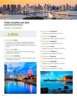 Ofertas de Viajes a Asia  en el folleto de Viajes El Corte Inglés en Madrid