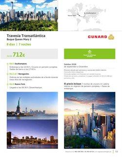 Ofertas de Viajes a Nueva York  en el folleto de Viajes El Corte Inglés en Madrid
