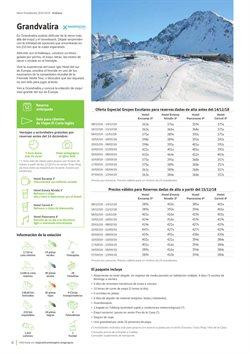 Ofertas de Hoteles  en el folleto de Viajes El Corte Inglés en Valencia