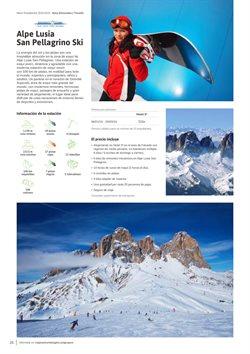 Ofertas de Destinos  en el folleto de Viajes El Corte Inglés en Madrid
