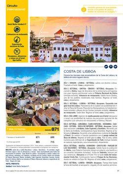 Ofertas de Viajes a Lisboa  en el folleto de Viajes El Corte Inglés en Sant Boi
