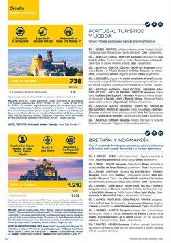 Ofertas de Viajes a Francia  en el folleto de Viajes El Corte Inglés en L'Hospitalet de Llobregat