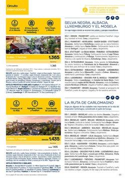 Ofertas de Cruceros  en el folleto de Viajes El Corte Inglés en L'Hospitalet de Llobregat