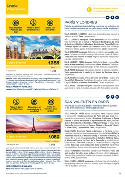 Ofertas de Viajes a París  en el folleto de Viajes El Corte Inglés en Telde