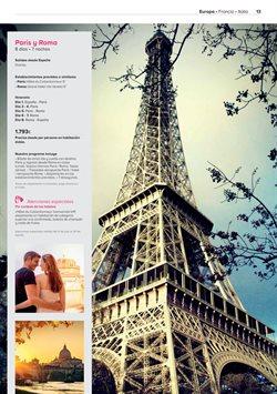 Ofertas de Viajes a París  en el folleto de Viajes El Corte Inglés en Sant Boi