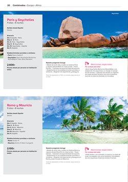 Ofertas de Viajes a Europa  en el folleto de Viajes El Corte Inglés en Madrid