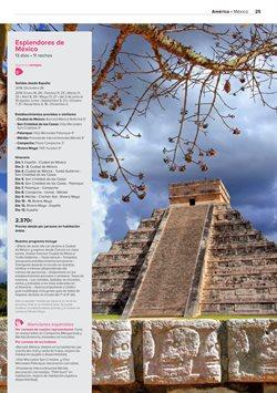 Ofertas de Viajes a Riviera Maya  en el folleto de Viajes El Corte Inglés en Madrid
