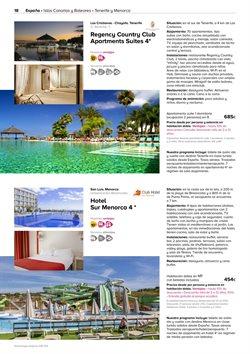 Ofertas de Viajes a Tenerife  en el folleto de Viajes El Corte Inglés en Sant Boi
