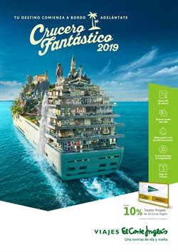 Ofertas de Viajes  en el folleto de Viajes El Corte Inglés en Pamplona