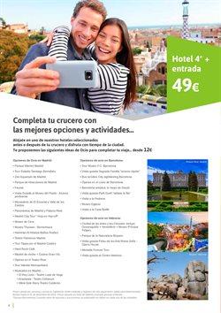 Ofertas de Hoteles  en el folleto de Viajes El Corte Inglés en El Ejido