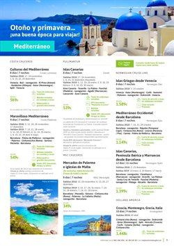 Ofertas de Viajes a Portugal  en el folleto de Viajes El Corte Inglés en Barcelona