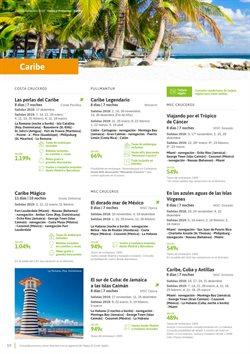 Ofertas de Viajes al Caribe  en el folleto de Viajes El Corte Inglés en Leganés