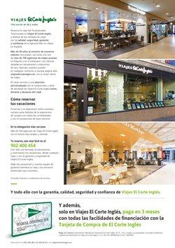 Ofertas de Hoteles  en el folleto de Viajes El Corte Inglés en Ávila