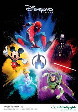 Ofertas de Viajes a Disneyland  en el folleto de Viajes El Corte Inglés en Madrid