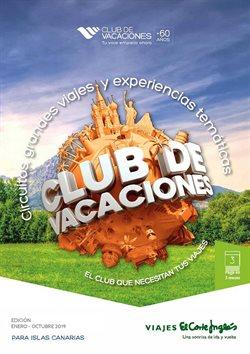 Ofertas de Viajes El Corte Inglés  en el folleto de Adeje