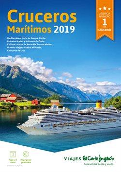 Ofertas de Cruceros  en el folleto de Viajes El Corte Inglés en Leganés
