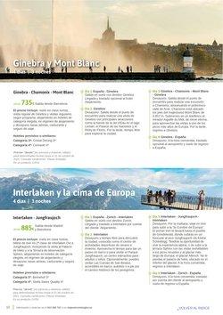 Ofertas de Montblanc en el catálogo de Viajes El Corte Inglés ( Más de un mes)