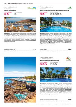 Ofertas de Alvalle en el catálogo de Viajes El Corte Inglés ( Más de un mes)