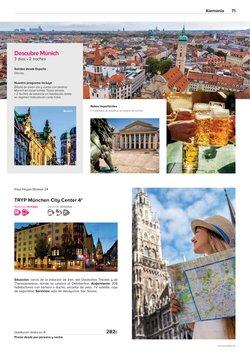 Ofertas de Munich en el catálogo de Viajes El Corte Inglés ( Más de un mes)