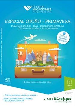 Ofertas de Semana Santa en el catálogo de Viajes El Corte Inglés ( Más de un mes)
