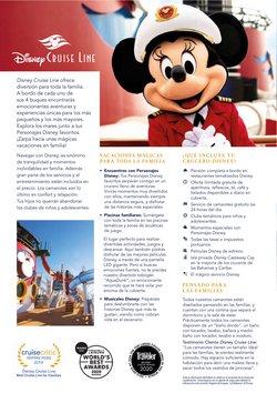 Ofertas de Disney en el catálogo de Viajes El Corte Inglés ( Más de un mes)