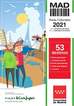 Ofertas de Viajes en el catálogo de Viajes El Corte Inglés ( Caduca mañana)