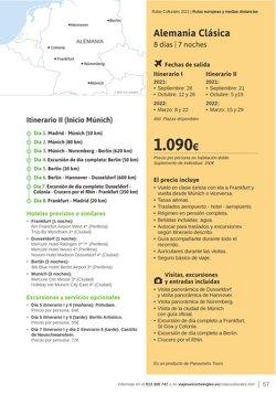 Ofertas de Munich en el catálogo de Viajes El Corte Inglés ( 12 días más)