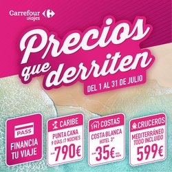 Ofertas de Carrefour Viajes en el catálogo de Carrefour Viajes ( Caduca hoy)