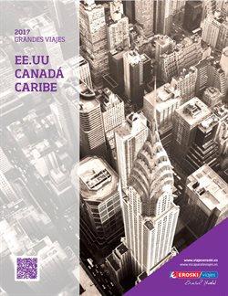 Ofertas de Viajes al Caribe  en el folleto de Viajes Eroski en Bilbao