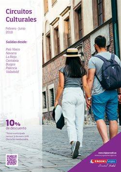 Ofertas de Circuitos  en el folleto de Viajes Eroski en Barcelona