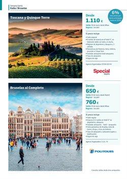 Ofertas de Viajes a Italia  en el folleto de Viajes Eroski en Barcelona