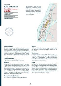 Ofertas de Viajes a Nueva York  en el folleto de Viajes Eroski en Madrid