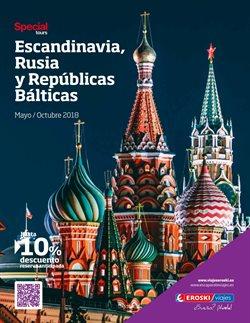 Ofertas de Viajes a Rusia  en el folleto de Viajes Eroski en Madrid