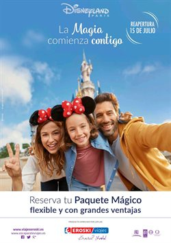 Ofertas de Viajes a Disneyland en Viajes Eroski