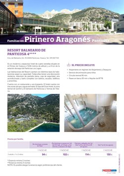 Ofertas de Balnearios en Viajes Eroski