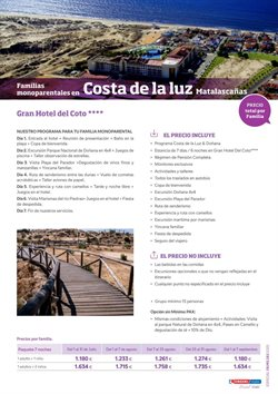 Ofertas de Costa de la Luz en Viajes Eroski