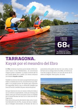 Ofertas de Kayak en Viajes Eroski