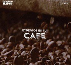 Ofertas de Dunkin Coffee  en el folleto de Molina de Segura
