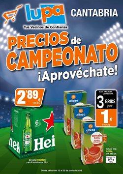 Ofertas de Supermercados Lupa  en el folleto de Santander