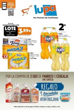 Catálogo Supermercados Lupa en Santo Domingo de la Calzada ( 5 días más )