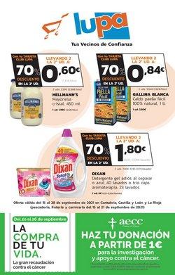 Catálogo Supermercados Lupa ( Caduca mañana)