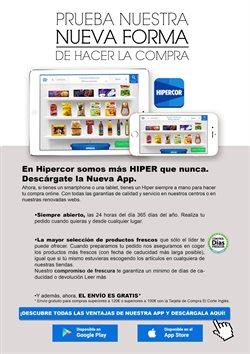 Ofertas de Agua  en el folleto de Hipercor en Sanlúcar de Barrameda