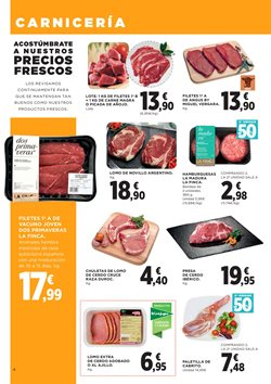 Ofertas de Carne de cerdo  en el folleto de Hipercor en Murcia