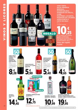 Ofertas de Whisky  en el folleto de Hipercor en Madrid