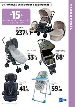 Ofertas de Bebé  en el folleto de Hipercor en A Coruña