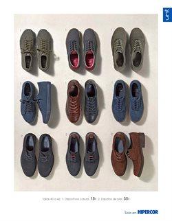 Ofertas de Zapatos  en el folleto de Hipercor en Madrid