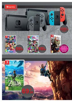 Ofertas de Nintendo  en el folleto de Hipercor en A Coruña